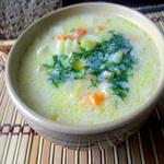 Гречневый суп с брюквой