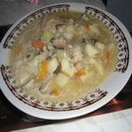 Овощной суп с простоквашей