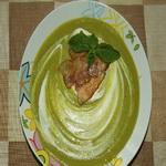 Суп из горошка с беконом