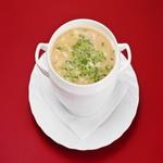 Сырный суп с капеллини