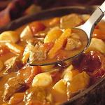 Грибной гуляш — суп с овощами