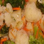Солёные грибы с овощами