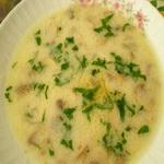 Суп с картофелем и грибами