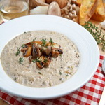 Суп – похлёбка из смеси лесных грибов