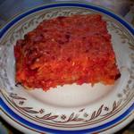 Капустный пирог с морковью и свеклой