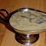 Соус грибной к блюдам из капусты