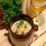 Мясной суп с грибами