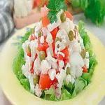 Овощной салат с репой