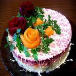 Овощной торт