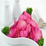 Салат картофельный с квашеной капустой «пелюстка»