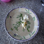 Суп из шампиньонов по-брюссельски