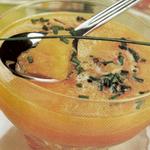 Суп тыквенный, с апельсиновой цедрой