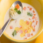 Суп тыквенный, с молоком