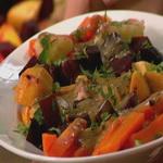 Овощной салат с «соусом винегрет»