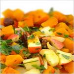 Овощной салат с мёдом