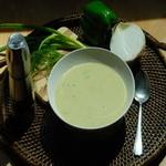 Суп – пюре из зелени