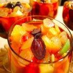 Салат фруктовый «Новогодняя ночь»