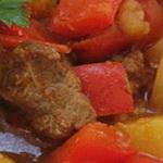 Салат из говядины, по-венгерски