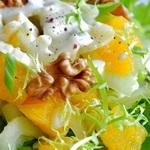 Салат из мяса кролика с цитрусовыми