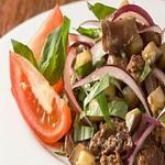 Салат из отварной баранины