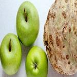 Салат из корневого сельдерея с яблоками