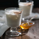 Молочный напиток с корицей
