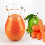 Морковно-яблочный напиток