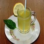Напиток лимонный