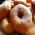Пончики сметанные