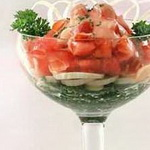 Салат – коктейль из томатов
