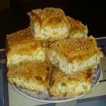 Слоёный пирог с сулугуни