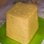 Сыр из творога, с апельсиновой цедрой