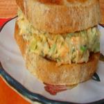 Сэндвичи с репчатым луком