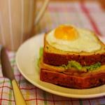 Сэндвичи с яичницей