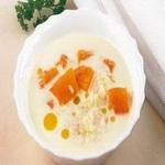 Рисовый суп с тыквой