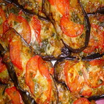 Баклажаны, запечённые с томатами