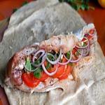 Рыба, запеченная в лаваше