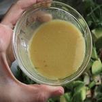 Салат из копченой скумбрии (в стакане)