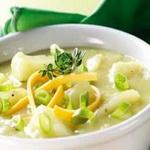 Капустный суп с лимоном и луком