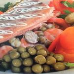 Овощной гарнир для отварной рыбы