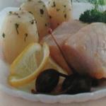 Отварной лосось