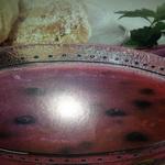 Суп вишневый с овсяными хлопьями