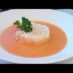 Суп – пюре из яблок с помидорами