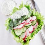 Редис для приготовления салатов