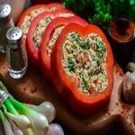 Перец, фаршированный сыром