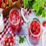 Варенье из клубники (без варки ягод)