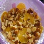 Желейный торт «Апельсины в йогурте».