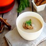 Суп- пюре грибной