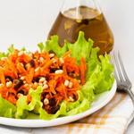 Морковно – финиковый салат