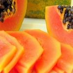 Полезный завтрак. Мюсли с папайей